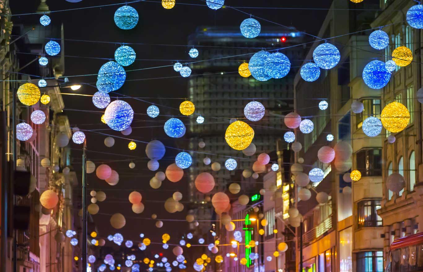 éclairage de rue